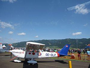 OE-DLP in Zeltweg bei der Airpower