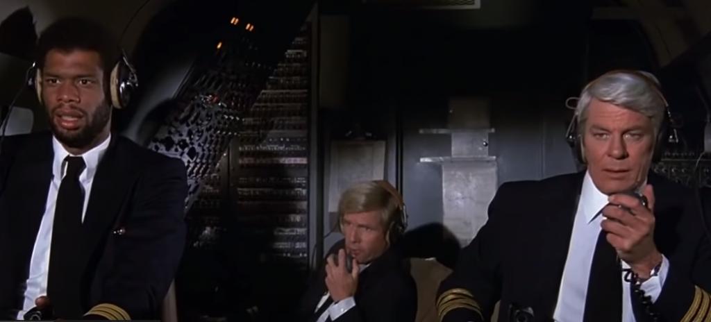Flugfunk im verrückten Flugzeug